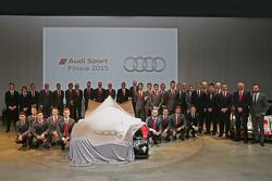 Audi Sport drivers