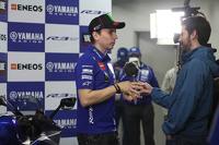 MotoGP Photos - Jorge Lorenzo, Yamaha Factory Racing with the media