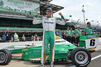 Pro Mazda Photos - Timothe Buret, Pro Mazda race winner at Indianapolis