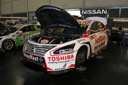 Michael Caruso, Nissan Motorsports and James Moffat, Nissan Motorsports