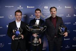 Sébastien Loeb, Citroën World Touring Car team, Jose Maria Lopez, Citroën World Touring Car team and Yvan Muller, Citroën World Touring Car team