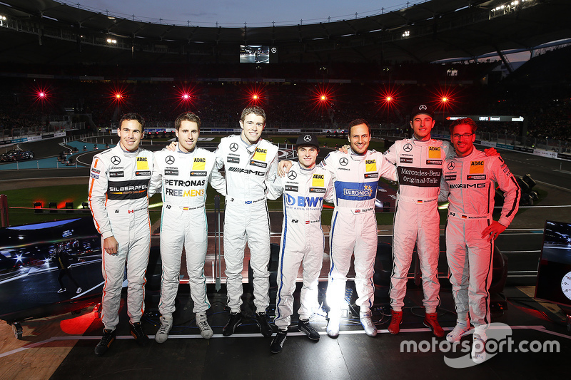 Mercedes DTM drivers