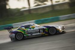 #35 Team AAI Mercedes SLS AMG GT3: Han-Chen Chen, Nobuteru Taniguchi, Hiroki Yoshimoto, Tatsuya Tanigawa