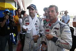 Sébastien Loeb, Citroën C-Elysee WTCC, Citroën World Touring Car team and Yvan Muller, Citroën C-Elysee WTCC, Citroën World Touring Car team