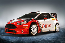 Robert Kubica Ford Fiesta livery unveil