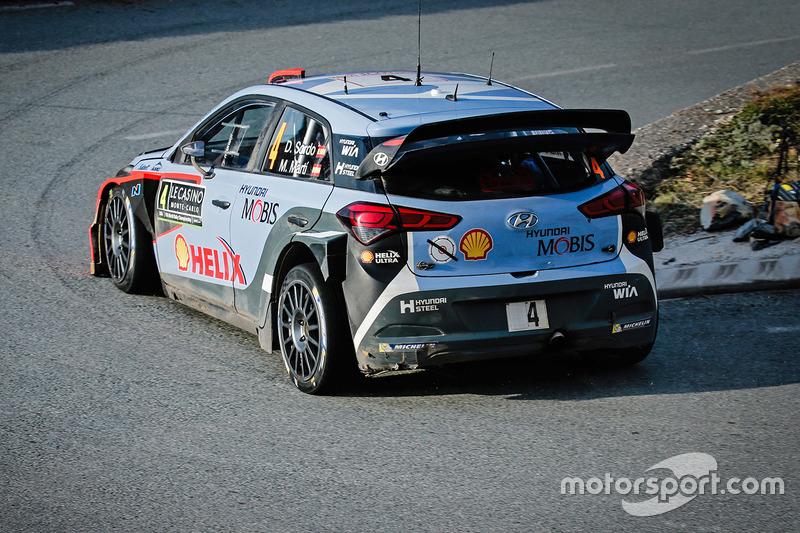 Daniel Sordo, Marc Marti, Hyundai i20 WRC, Hyundai Motorsport at Rally Monte Carlo
