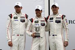3rd GTLM: #912 Porsche Team North America Porsche 911 RSR: Michael Christensen, Earl Bamber, Frédéric Makowiecki