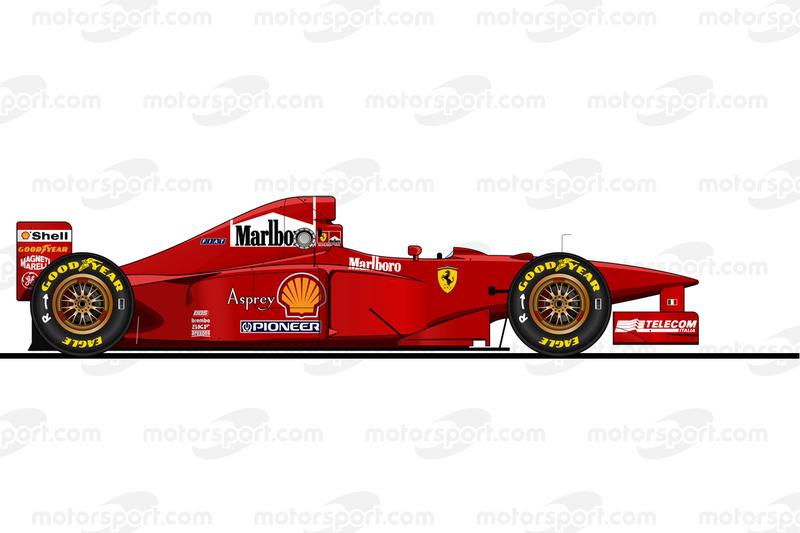 1997年 Ferrari F310B