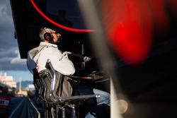Haas F1 Team pit gantry