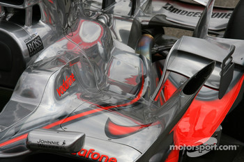 McLaren Mercedes, MP4-23, bodywork