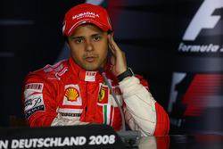 Press conference: third place Felipe Massa