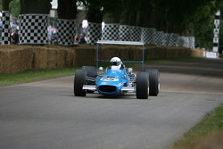 Bruno Perrin, 1968 Matra Cosworth MS10 (ex Jackie Stewart)