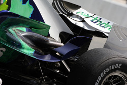 Alexander Wurz, Test Driver, Honda Racing F1 Team, RA108, detail