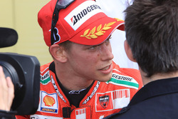 Second place Casey Stoner