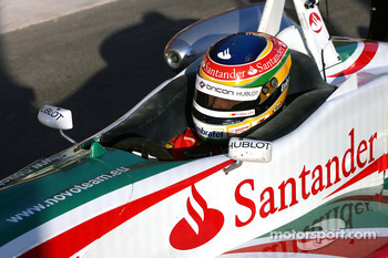Bruno Senna, ISport International drives in Spanish F3 championship to learn the track for next GP2 races