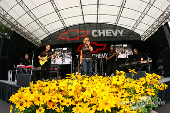 Live entertainment at Chevy stage