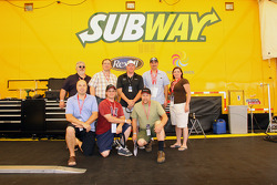 Paul Tracy and fans