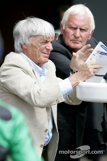 King George VI and Queen Elizabeth Stakes Day, Crystal Palace, Ascot, England: Bernie Ecclestone, President and CEO of Formula One Management