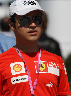 Dudu Massa, Brother of Felipe Massa, Scuderia Ferrari