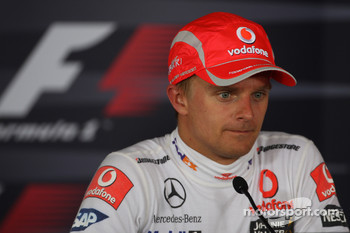 Press conference: race winner Heikki Kovalainen