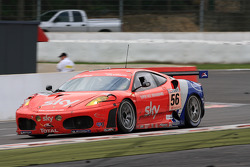 #56 CR Scuderia Ferrari F430: Andrew Kirkaldy, Rob Bell, Dirk Muller, James Sutton