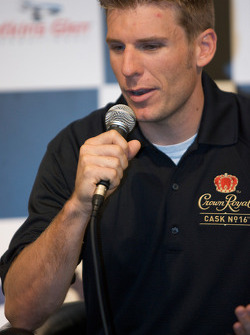 Crown Royal press conference: Jamie McMurray