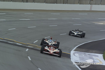 Scott Dixon, Vitor Meira and Dan Wheldon