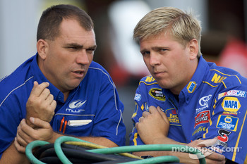Michael Waltrip Racing crew members