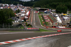 Eau Rouge, after 16 hours of racing
