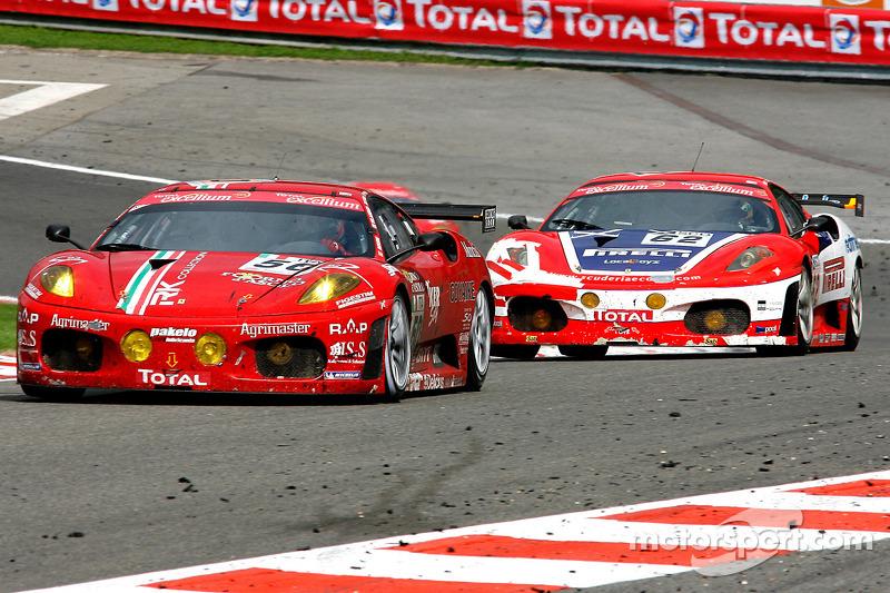 #50 AF Corse Ferrari F430: Gianmaria Bruni, Toni Vilander, Jaime Melo, Mika Salo
