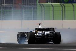Nico Rosberg, WilliamsF1 Team, FW30, spins