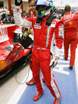 Pole winner Felipe Massa