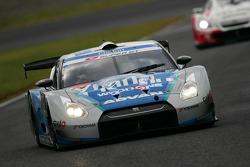 #24 Woodone Advan Clarion GT-R: Joao Paulo Lima De Oliveira, Seiji Ara