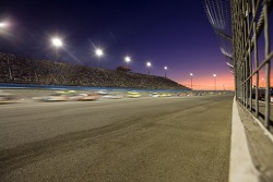 The sun sets on California Speedway