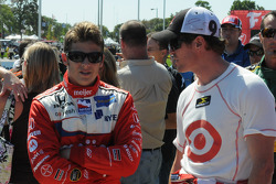 Marco Andretti and Scott Dixon