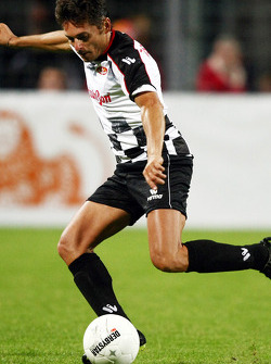 Charity Football Match, Nazionali Piloti vs All Stars Team: Giancarlo Fisichella, Force India F1 Team