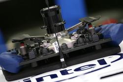 BMW Sauber F1 Team steering wheels