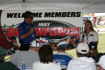 Sarah Fisher answers questions from fans