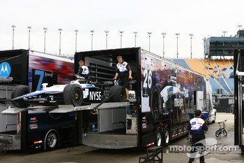 Andretti Green Racing hauler