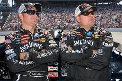 Clint Bowyer and Gil Martin