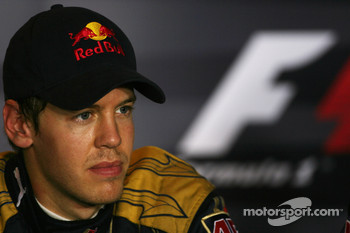 Press conference: pole winner Sebastian Vettel
