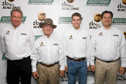 UPS/Roush Fenway Racing press conference: Jimmy Fenning, Jack Roush, David Ragan, and Ron Rogowski