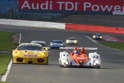 #32 Barazi - Epsilon Zytek 07S - Zytek: Juan Barazi, Fernando Rees, Michael Vergers and #96 Virgo Motorsport Ferrari F430 GT: Jaime Melo, Robert Bell