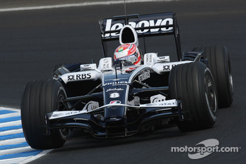 Kazuki Nakajima, Williams F1 Team, 2009, Specification Aerodynamics