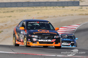 #76 Compass360 Racing Acura TSX: Adam Burrows, Trevor Hopwood