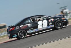 #29 Bill Fenton Motorsports Honda Civic SI: Bob Beede, Bill Fenton