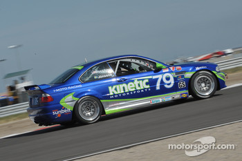 #79 Kinetic Motorsports BMW M3 Coupe: Nic Jonsson, Glen Bocchino