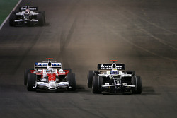 Jarno Trulli, Toyota F1 Team, Nico Rosberg, Williams F1 Team