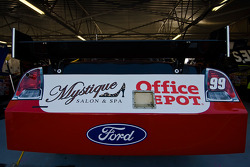 The Office Depot Ford sits in its garage stall