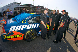 Dupont Chevy in tech inspection line